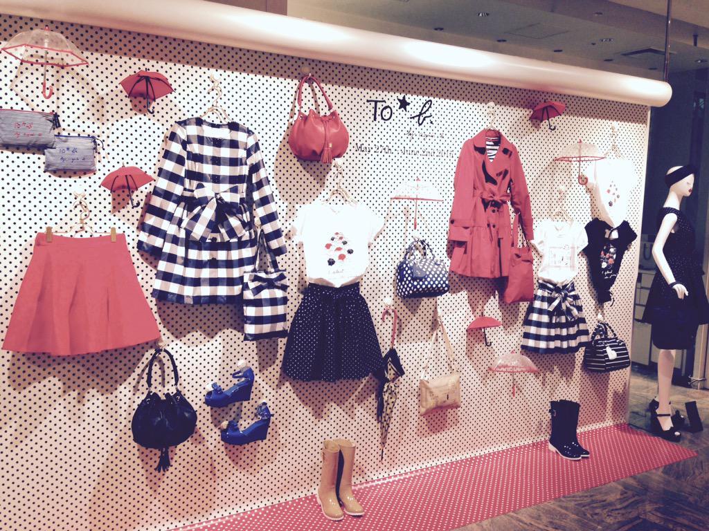 本日から新宿伊勢丹では期間限定ショップがオープン!とっても可愛いレインコレクションに加え、楽しい仕掛けも!是非店頭までお越しください♡ http://t.co/DyEpsIND6o