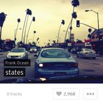 "Frank Ocean posted an empty playlist on Soundcloud today titled ""states."" New Frank Ocean coming tonight/soon? http://t.co/wVVr4bwsBs"