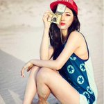 Suzy is the cutest beach girl for MLB http://t.co/snNSxOwwaH http://t.co/nG1rASEgcH