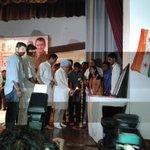 Earlier, Ex PM Dr. Manmohan Singh Ji inaugurated #Drishtikon2015. http://t.co/5zeq2ZUxV1