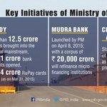 #NDAOneYear #SaalEkShuruaatAnek : Repeating our series on key initiatives of Ministries..Finance Ministry http://t.co/B1TlGgtWFZ