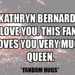 We love you, queen @bernardokath! ♥ http://t.co/yPcydYlnBu