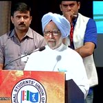 All not well in the state of our Economy under BJP Govt: Manmohan Singh at NSUI National Convention on Modi Govt http://t.co/7Ndz3CEaJk