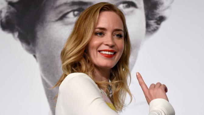 Cannes2015: Emily Blunt slammed the festival for banning flats on the red carpet.