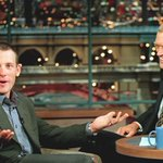 Fortunate to be on @Letterman a few times. From the beaded seat cover to the bike basket. Enjoy the next chapter Dave http://t.co/pv1itVzCOI