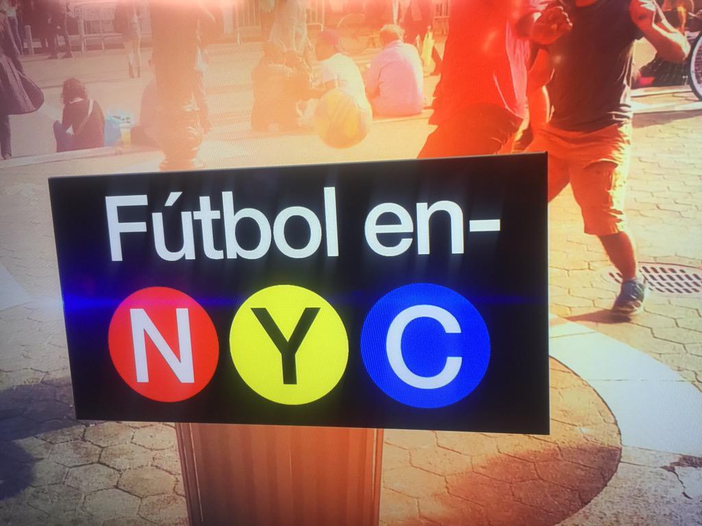 No se pierdan mi especial! A las 10 en el canal 8. #FubtolEnNYC #NewYork #Futbol #MundoFox8 @MundoFOX8 http://t.co/gppLK56ksz