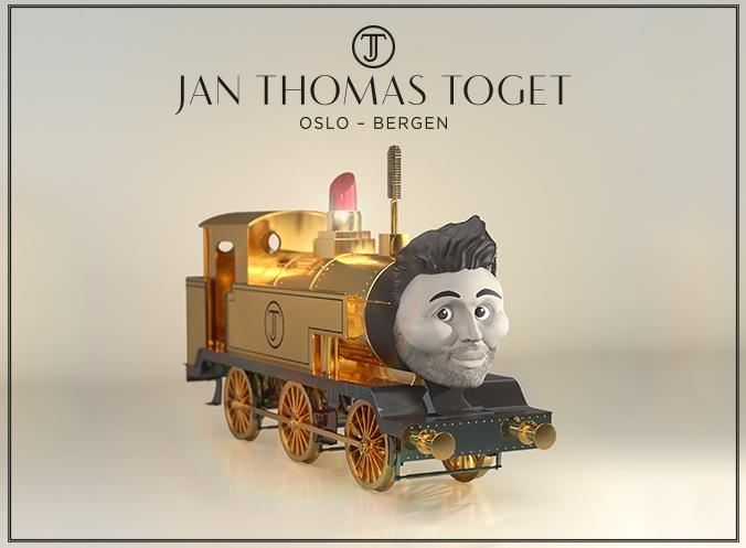 NSB presenterer: Jan Thomas-toget. Bli ny over Hardangervidda! Les mer her: http://t.co/O9xX7D1442 #NSB @JTJanThomas http://t.co/b4K8ggjUvb
