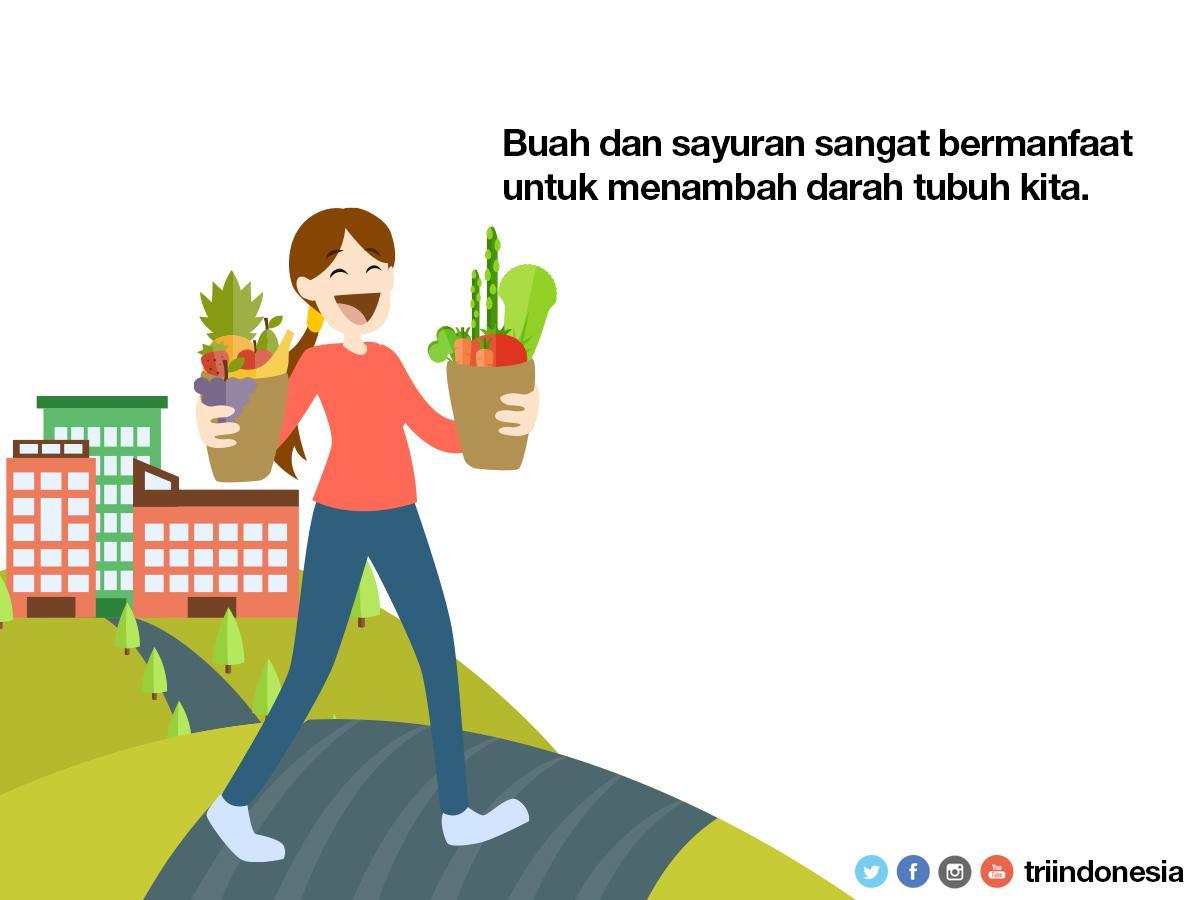 Beberapa Buah Dan Sayuran Sebagai Penambah Darah Alami - AnekaNews.net