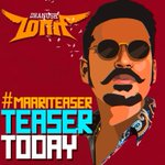RT @directormbalaji: Here's the Official #CommonDP for today's #MaariTeaser release this evening :) #Maari #Tharalocal #Dhanushians :)