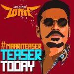 RT @WunderbarFilms_: Official #Maari Common DP! Teaser from today! @dhanushkraja @anirudhofficial @directormbalaji @realradikaa