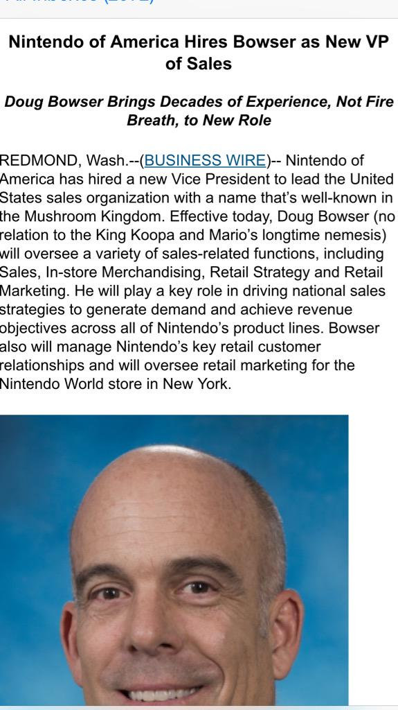 "I normally don't care about ""we hired a dude"" press releases, but just this once.... http://t.co/QfdKFvoKDa"