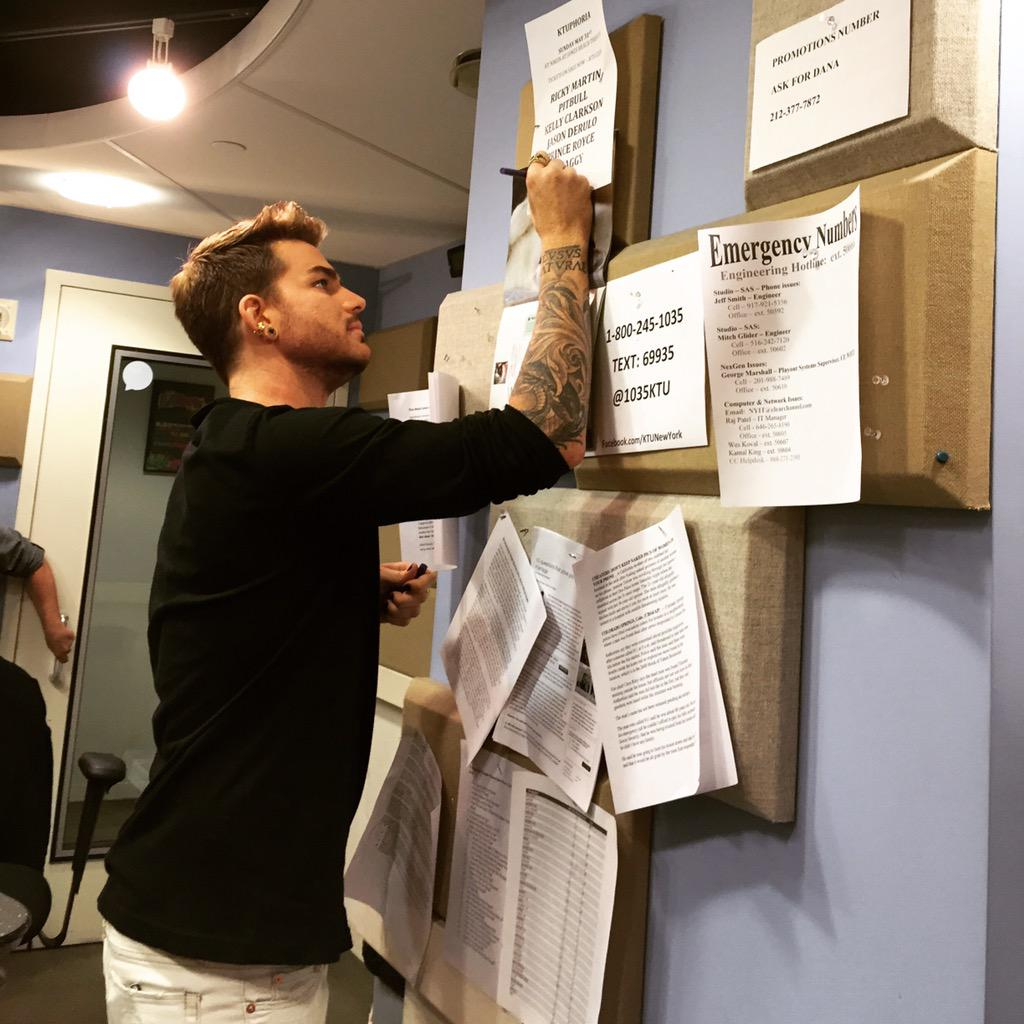How cute is @adamlambert adding his name to the #KTUphoria lineup?! Can't wait! Get ready #glamberts!!! @1035ktu http://t.co/eD4dfkt6jP