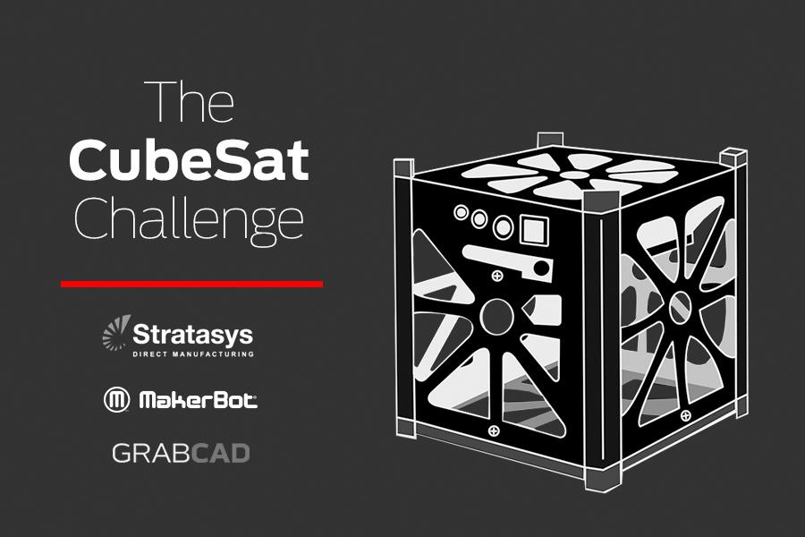 Very excited to launch The #CubeSat Challenge with @Stratasys and @makerbot https://t.co/9B7oxQ68Ds #Aerospace http://t.co/4cgTsv88jk