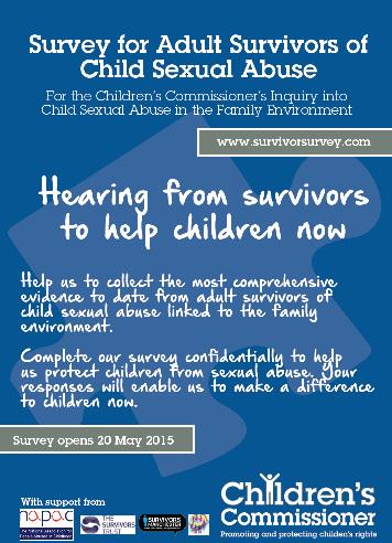 We want to hear from survivors of sexual abuse so we can help protect more children today: http://t.co/WvSXPJADNG http://t.co/pohOVOmuBb