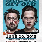 RT @SacConvCenter: Jay & Silent Bob Get Old 6/20! Tickets on sale now! http://t.co/sXw3BvDdgE  @Ticketsdotcom @JayMewes @ThatKevinSmith htt…