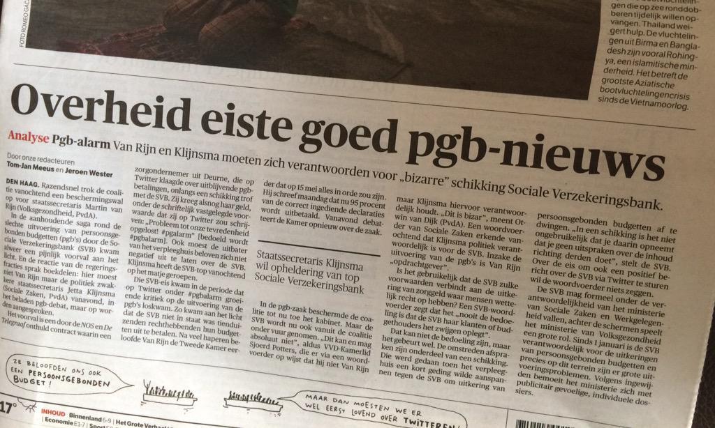 Je vraagt je af waar tegenwoordig de ondergrens ligt om op te stappen... #pgbalarm #pgbdebat #vanrijn http://t.co/iipxFoFmXw