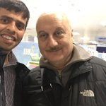 RT @sanjmann: My Afghan friend Mahboob was so excited to meet @AnupamPkher yesterday in London http://t.co/45mE1VJ2TV
