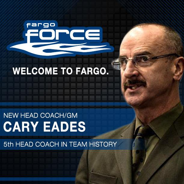 Cary Eades announced as the 5th Head Coach/GM in team history. Welcome aboard Cary! http://t.co/vqH6MevHV8