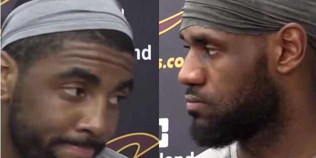 Lebron james and kyrie irving have matching best-friend headbands -  scoopnest.com d4d2d551341
