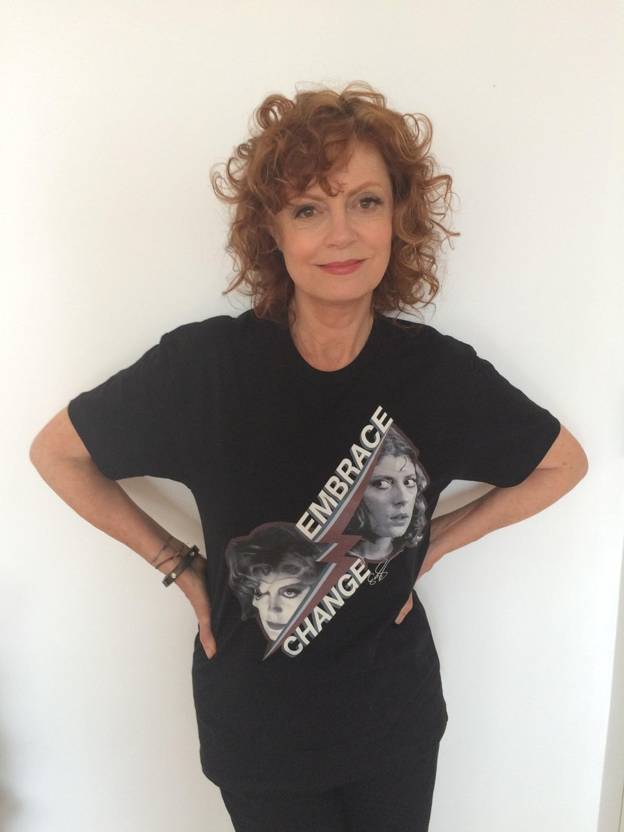 RT @SusanSarandon: I designed an exclusive tee. 100% of proceeds support my new doc, DEEP RUN. #EmbraceChange http://t.co/SqPO3LpVFL http:/…