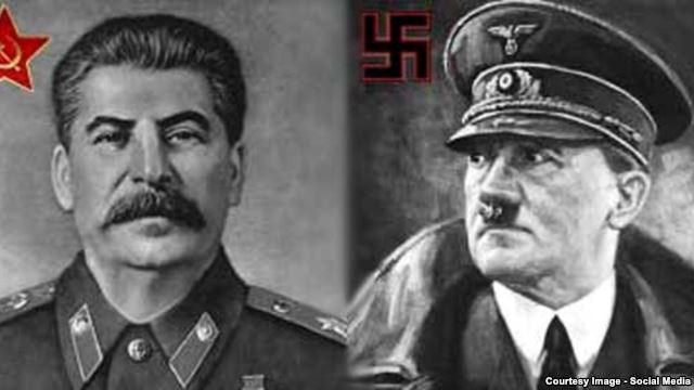 compare and contrast the dictatorships of hitler and stalin essay