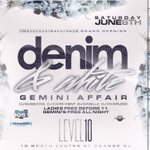 June 6th level 10 Orange NJ music by @DJDARKKENT @DJOvaflow @Power1051 @DJSUSSONE Denim and White party! http://t.co/2kbC8F5OMa