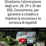RT domenichiofalo: Firma la petizione contro il Ddl che #rottamalatutela pubblicata su Change … http://t.co/voFBAdxo5w  — Giuseppe Levant…