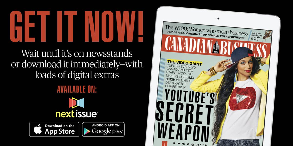 New issue! Grab our cover story on the rising power of YouTube stars like @iisuperwomanii:  http://t.co/rBuqvht7wW http://t.co/GKV1gNpHAg