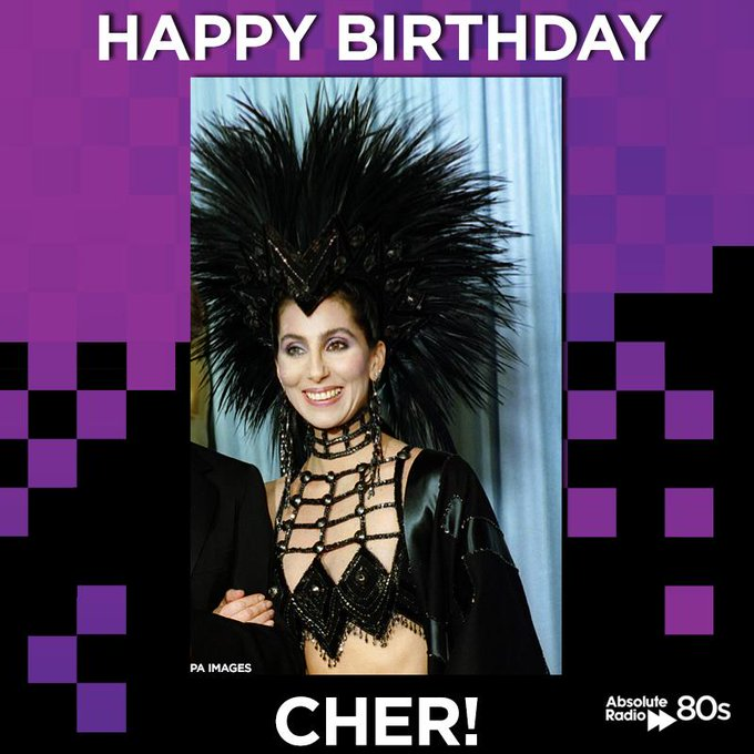 "Happy birthday Cher! Feel free to ""cher\"" this message - this outfit is overdue a comeback..."