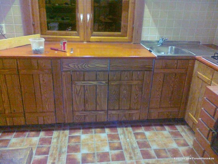 Сделать мебель для кухни для дачи своими руками8
