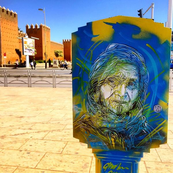 Street Art and Social Change: C215 Paints for the People in Morocco @christianguemy #c215 http://t.co/mSOkVxwEWJ http://t.co/NhXhkfjXA1