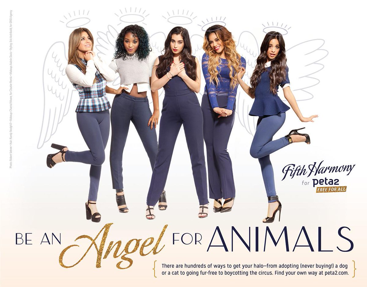 #CongratsOnTop20FifthHarmony! We ❤️ your music AND your compassion! @FifthHarmony http://t.co/l4wGGcTFcF