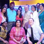 RT @BendItMusical: We had a special guest in the audience tonight... Great to see you @AnupamPkher!