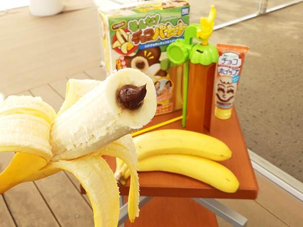"""発表させていただきます!今までの常識を覆す「逆チョコバナナ」が作れる『そんな!チョコバナ~ナ』6月18日新発売!本日HPをアップしました。まさに""""チョコバナナ界""""の革命児です! http://t.co/OXBnJOGWtY http://t.co/p7OOw6h4gx"""