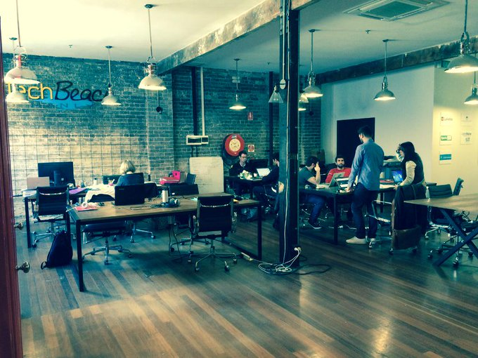 Visiting TechBeach - the tech sector accelerator located in vibrant Manly #commsau http://t.co/DiTJ6rjKI8