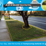 HAVE YOUR SAY! Join the conversation happening on the City of #Ballarat #Nature Strip Policy. http://t.co/q5YU6g1Ebj http://t.co/pCwK5DJBWY