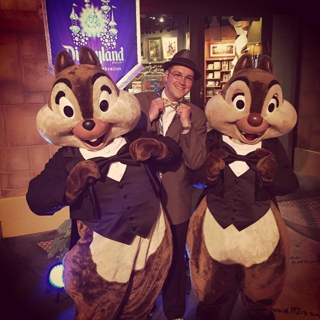 Because bow ties are the best! #disneyland60 http://t.co/3pZ9TLra7N