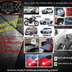 @carmen264114644 Machado auto body taller de pintura al horno GYE especializado en USA 0939973426 http://t.co/VEOh7qo5hr