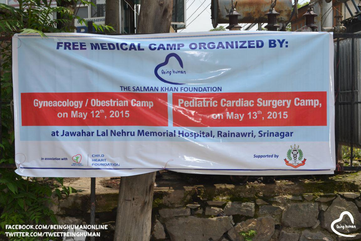 #BeingHuman – The Salman Khan Foundation conducted a camp in kashmir for women's health(cont.)http://t.co/mPjWzDuEtB http://t.co/giFGdkgl40
