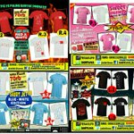 @Unikom48 Kaos JKT48 terlaris! Harga pelajar S.M.L 70K XL 75K XXL/XXXL 80K| Blm ongkir| Bisa request warna http://t.co/ejRl2AR7yp