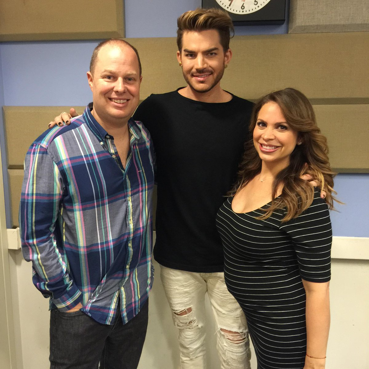 Thank You @adamlambert for hanging out with me and @TheRealCarolina see you at #KTUphoria http://t.co/dUPgQ9okqz