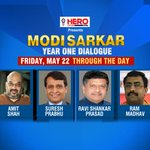 #Modi365 | IBN Network presents Modi Sarkar: Year One Dialogue's GUEST PANEL Tune in to CNN-IBN at 10 am tomorrow http://t.co/gGUMGpVspH
