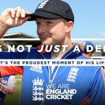 Its not just a debut Its the proudest moment of his life! Congrats on your @englandcricket debut @lythy09! #ENGvNZ http://t.co/VBtYzSEtpl