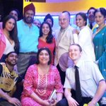 """RT @GurinderC: """"@BendItMusical: Loved having @AnupamPkher in the audience last night!"""