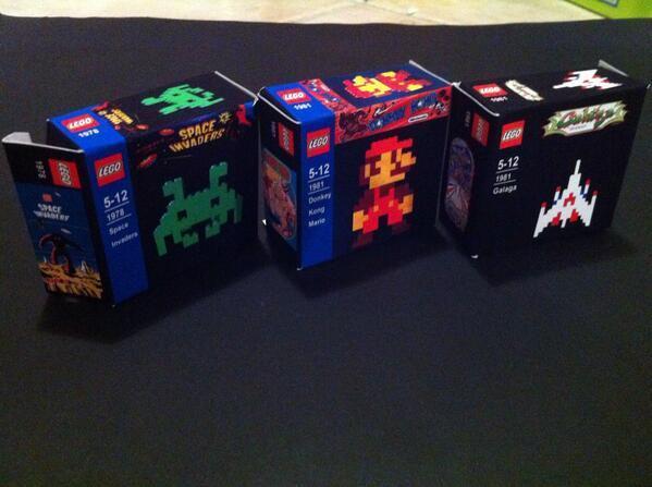 Andrew Owen's (@AndrewOonline) fantastic custom-made Lego sets! 👍👍👍 #retrogaming #gamersunite http://t.co/niJTXXg6wk