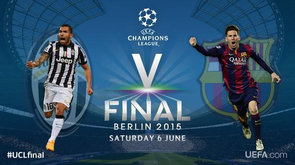 I can't wait for this #UCLfinal:  JUVENTUS vs BARCELONA  Football Prediction: http://t.co/ZXTh7zRNmL v @football__app http://t.co/JPzfE3uGbq