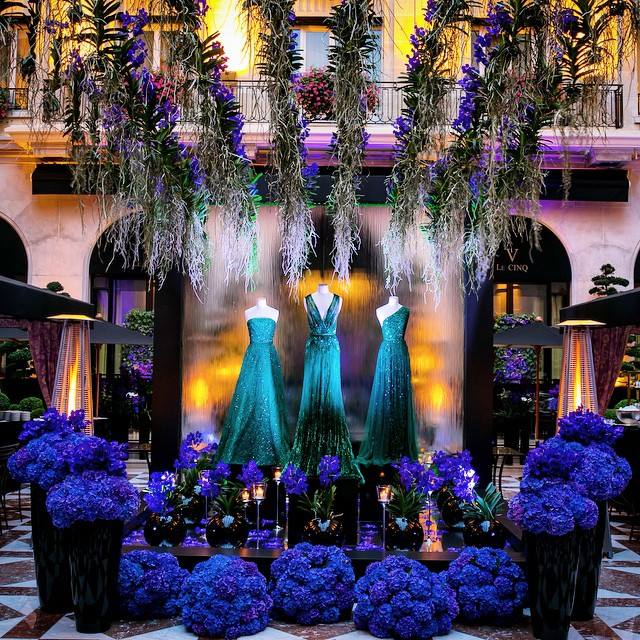 TBT to a great fashion event with @ElieSaabWorld at the @FSParis! @jeffleatham #fashion #marblecourtyard #georgev http://t.co/nyZzjzKOMm
