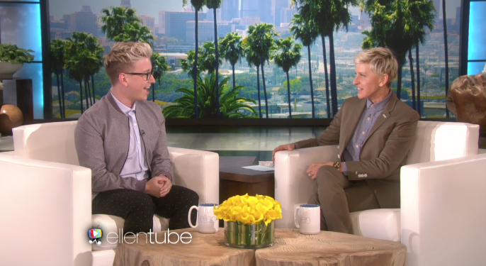 So cool to see #MSU alumnus @TylerOakley on @TheEllenShow! http://t.co/9tuhH6xVOT #TylerOnEllen http://t.co/AmQTvDy2yJ