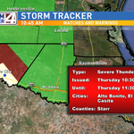 A #SevereThunderstormWarning is now in effect for southern #StarrCounty until 11:30 a.m. @kgbt #rgv http://t.co/z1RrU92gnL