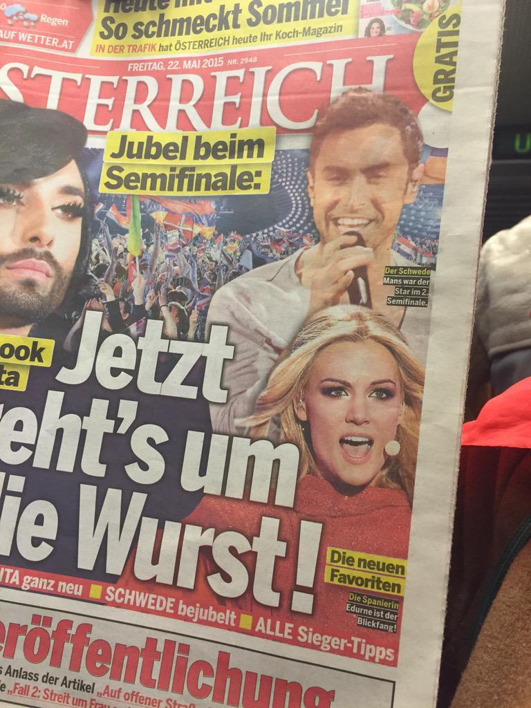 .@Edurnity en la prensa austríaca: 'La española, la nueva favorita' http://t.co/sjqDPaK7mF